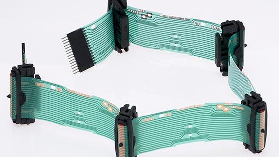 Circuit imprimé pcb avec connectique