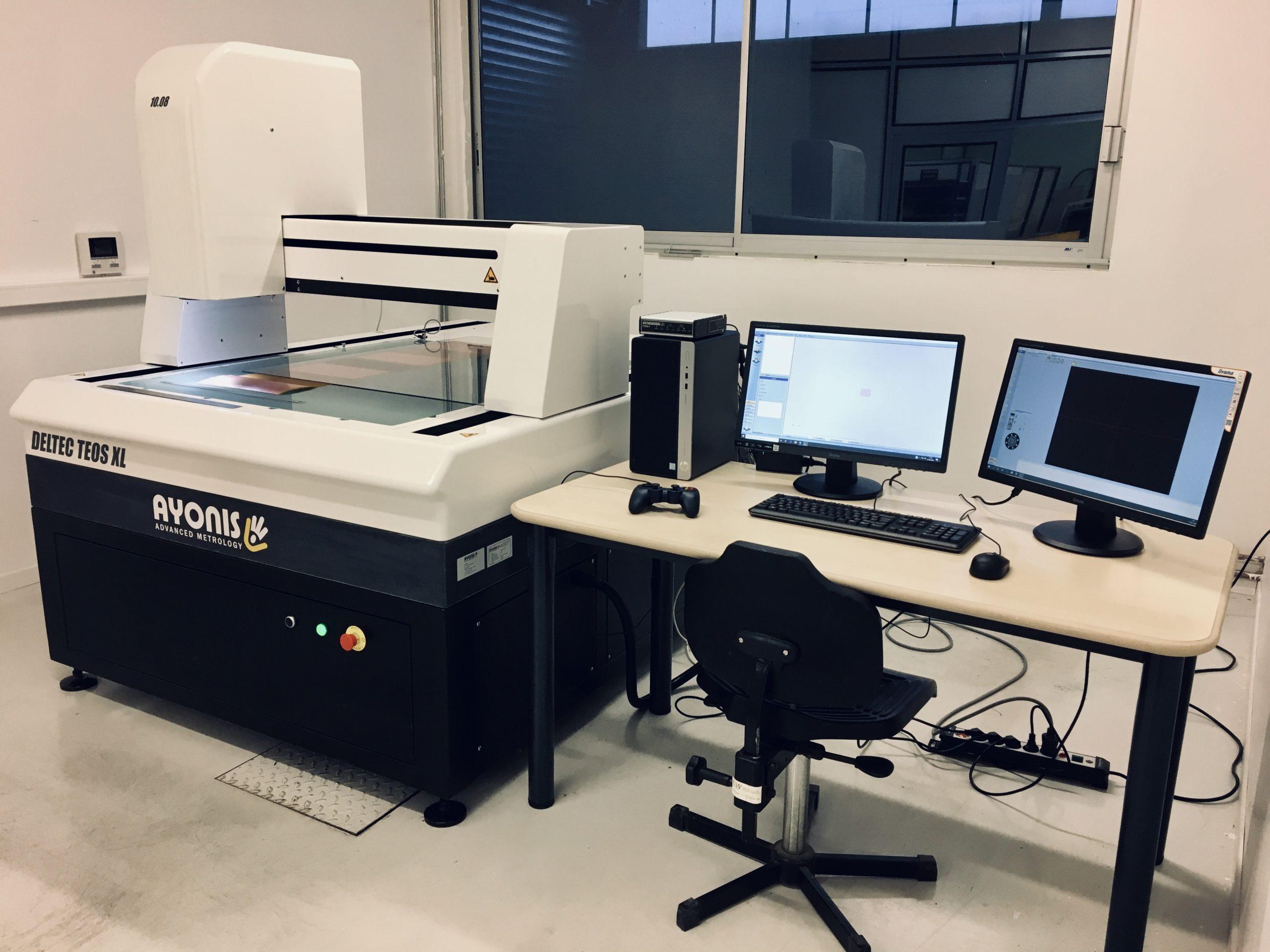 Image équipement métrologie 3D